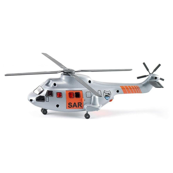 Siku 1:50 Search & Rescue Helicopter with Stretcher-SKU2527-Animal Kingdoms Toy Store