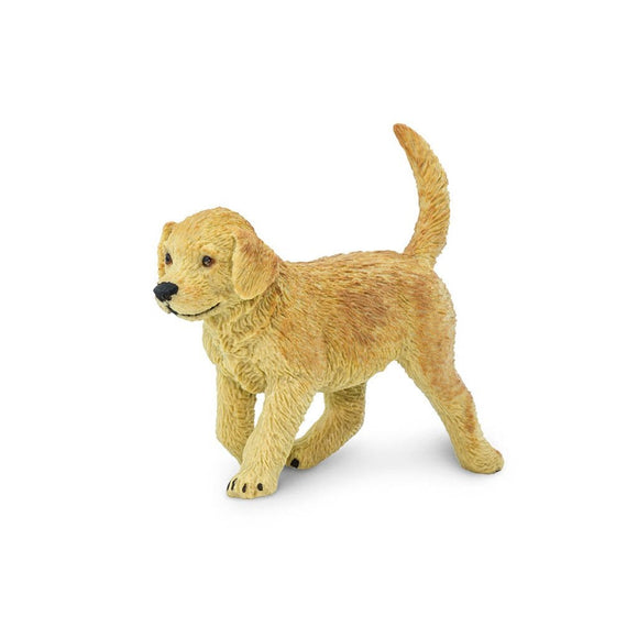 Safari Ltd Golden Retriever Puppy-SAF253229-Animal Kingdoms Toy Store