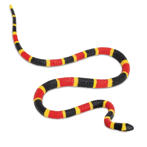Safari Ltd Coral Snake Baby - extra large-SAF263329-Animal Kingdoms Toy Store