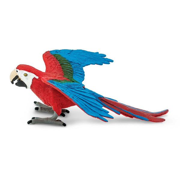 Safari Ltd Green-Winged Macaw-SAF263929-Animal Kingdoms Toy Store