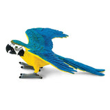 Safari Ltd Blue & Gold Macaw-SAF264029-Animal Kingdoms Toy Store