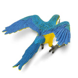 Safari Ltd Blue & Gold Macaw - AnimalKingdoms.co.nz