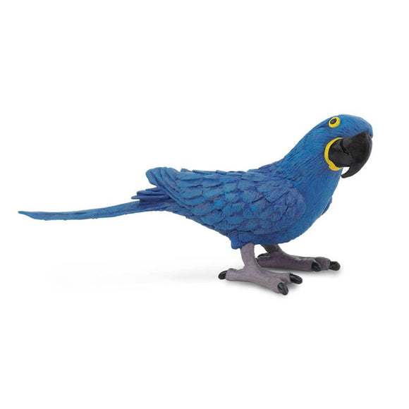 Safari Ltd Hyacinth Macaw - AnimalKingdoms.co.nz