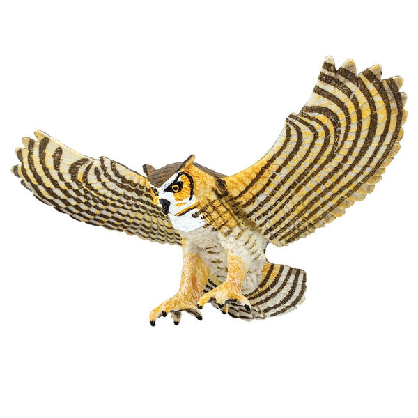 Safari Ltd Great Horned Owl-SAF264429-Animal Kingdoms Toy Store