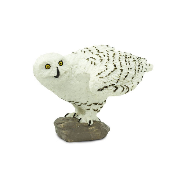 Safari Ltd Snowy Owl - AnimalKingdoms.co.nz