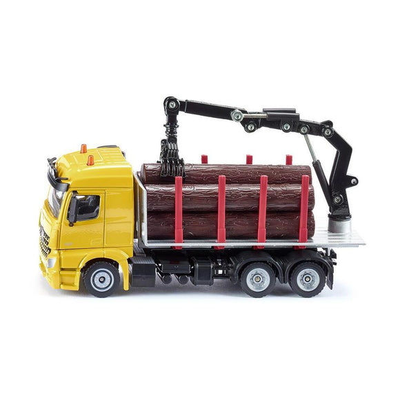 Siku 1:50 Mercedes Zetros Logging Truck-SKU2714-Animal Kingdoms Toy Store
