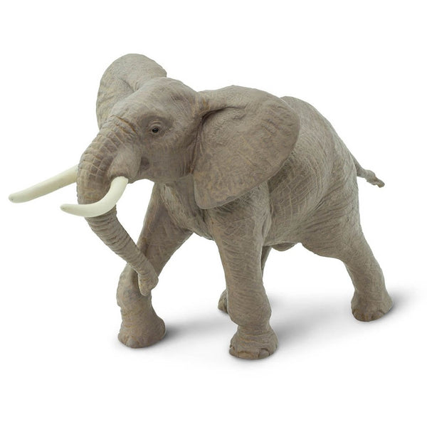 Safari Ltd African Bull Elephant-SAF295629-Animal Kingdoms Toy Store