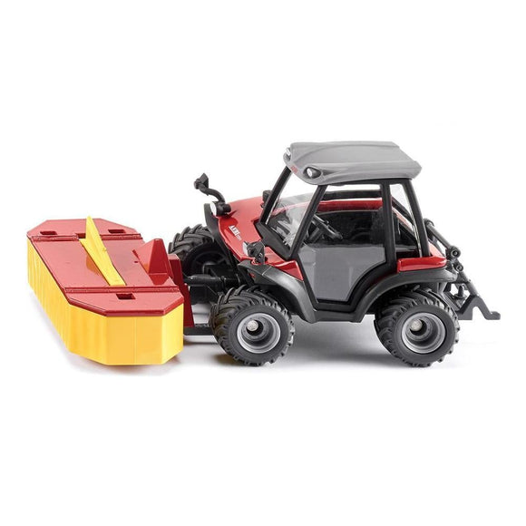 Siku 1:32 Aebi TerraTrac TT211 with Front Mower-SKU3068-Animal Kingdoms Toy Store
