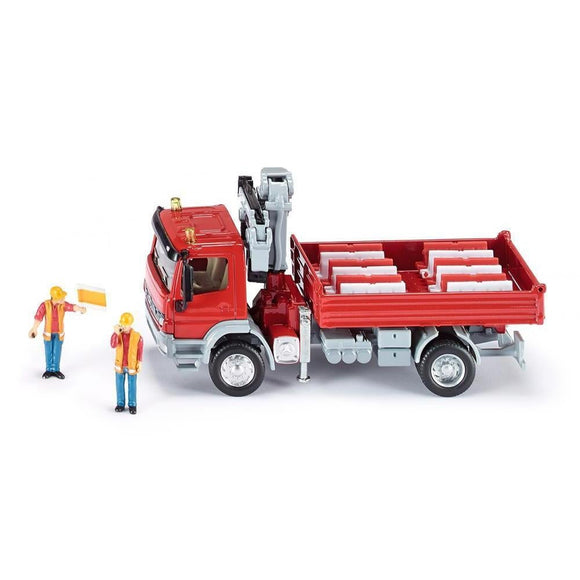 Siku 1:50 Mercedes Atego Truck with Crane-SKU3534-Animal Kingdoms Toy Store
