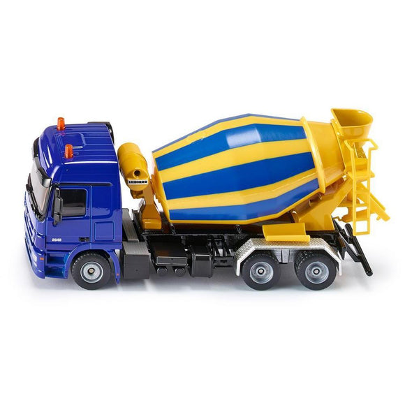 Siku 1:50 Mercedes Cement Mixer Truck-SKU3539-Animal Kingdoms Toy Store