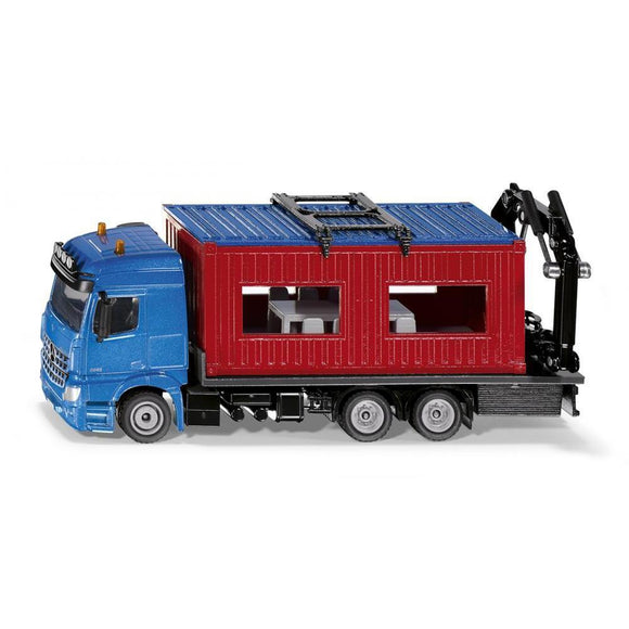 Siku 1:50 Mercedes Truck with Portable Container-SKU3556-Animal Kingdoms Toy Store