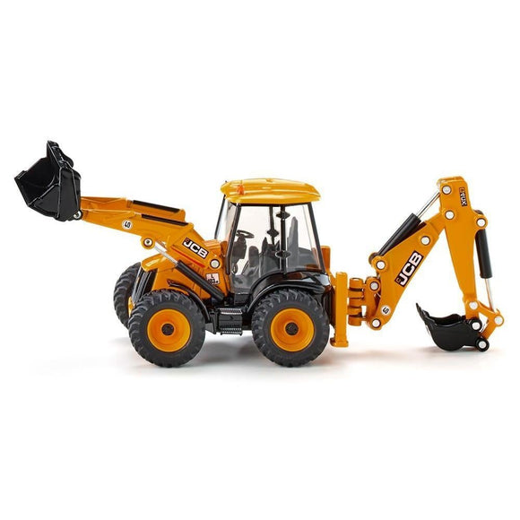 Siku 1:50 JCB 4CX Backhoe Loader-SKU3558-Animal Kingdoms Toy Store