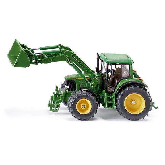 Siku 1:32 John Deere 6820 with Front Loader-SKU3652-Animal Kingdoms Toy Store