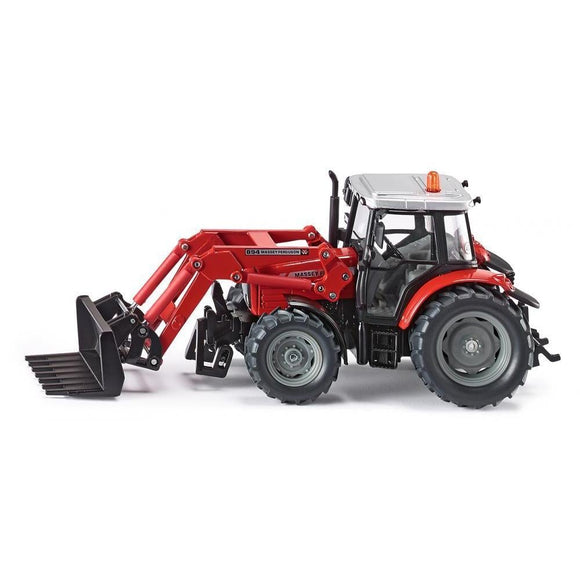 Siku 1:32 Massey Ferguson 894 with Fork Loader-SKU3653-Animal Kingdoms Toy Store