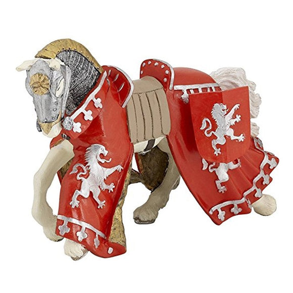Papo Horse of Red Prince Richard-39772-Animal Kingdoms Toy Store