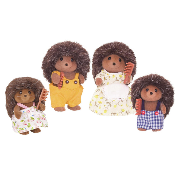 Sylvanian Families Hedgehog Family-4018-Animal Kingdoms Toy Store