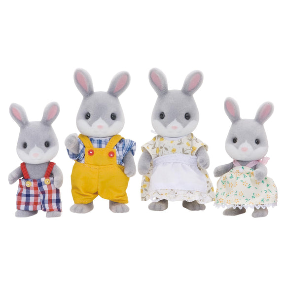 Sylvanian Families Cottontail Rabbit Family-4030-Animal Kingdoms Toy Store