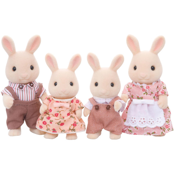 Sylvanian Families Buttermilk Rabbit Family-4108-Animal Kingdoms Toy Store