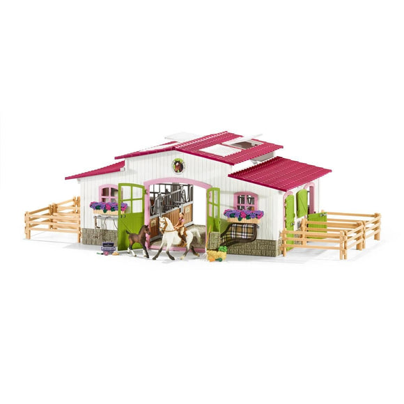 Schleich Riding Centre with Accessories-42344-Animal Kingdoms Toy Store