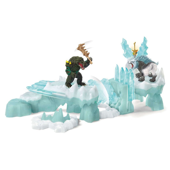 Schleich Attack on Ice Fortress-42497-Animal Kingdoms Toy Store