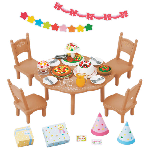 Sylvanian Families Party Set - AnimalKingdoms.co.nz