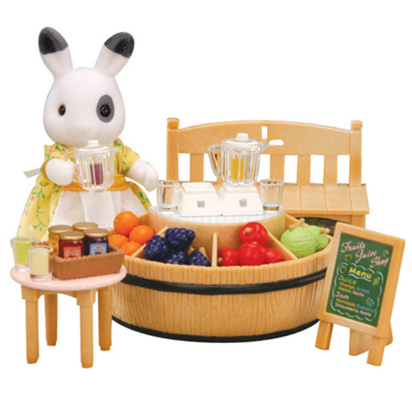 Sylvanian Families - Juice Bar & Figure - AnimalKingdoms.co.nz