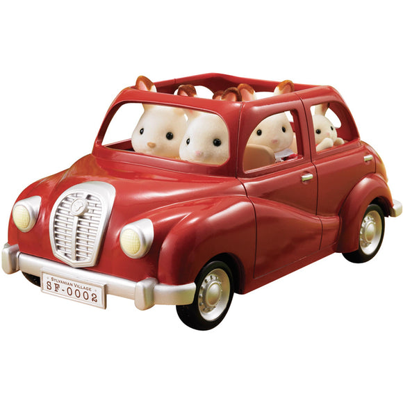 Sylvanian Families Red Family Saloon Car - AnimalKingdoms.co.nz