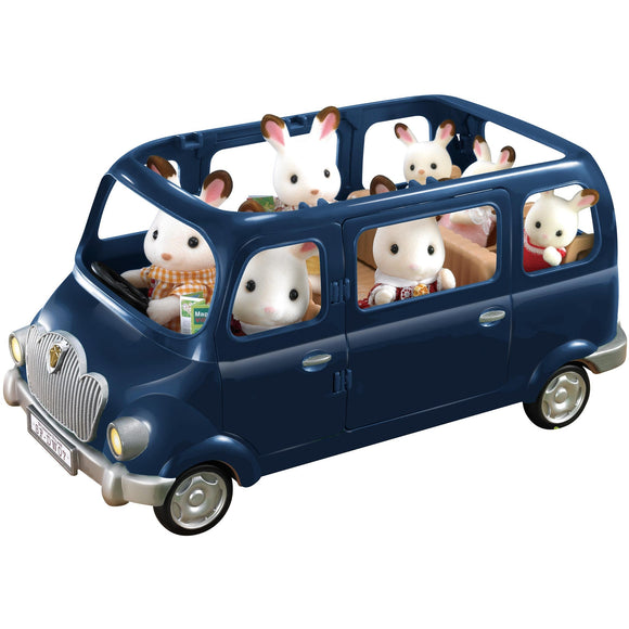 Sylvanian Families Blue Bell Seven Seater - AnimalKingdoms.co.nz