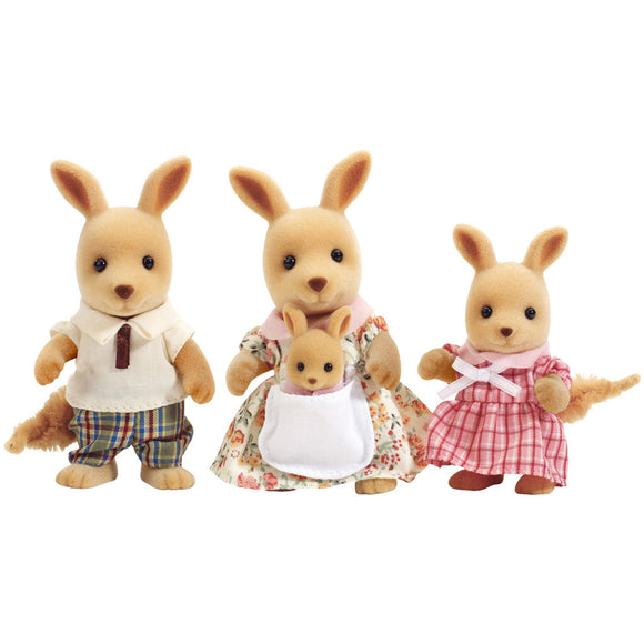 Sylvanian Families Kangaroo Family-4766-Animal Kingdoms Toy Store