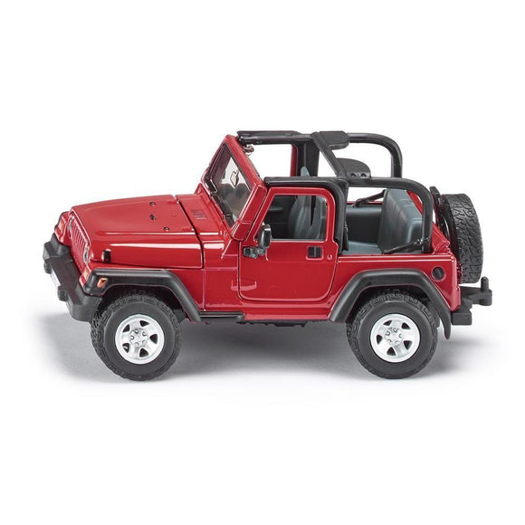 Siku 1:32 Jeep Wrangler-SKU4870-Animal Kingdoms Toy Store