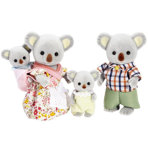 Sylvanian Families Koala Family-5003-Animal Kingdoms Toy Store