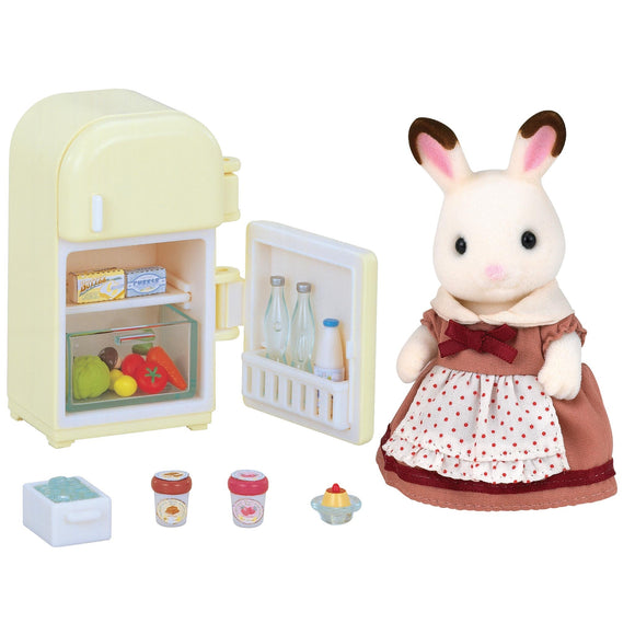 Sylvanian Families Chocolate Rabbit Mother Set - AnimalKingdoms.co.nz