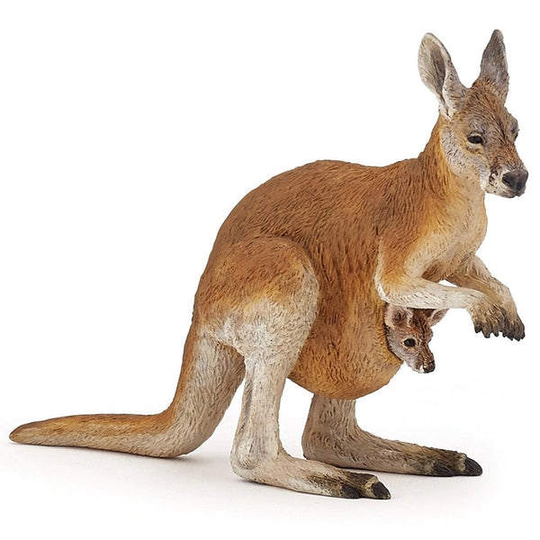 Papo Kangaroo with Joey-50188-Animal Kingdoms Toy Store
