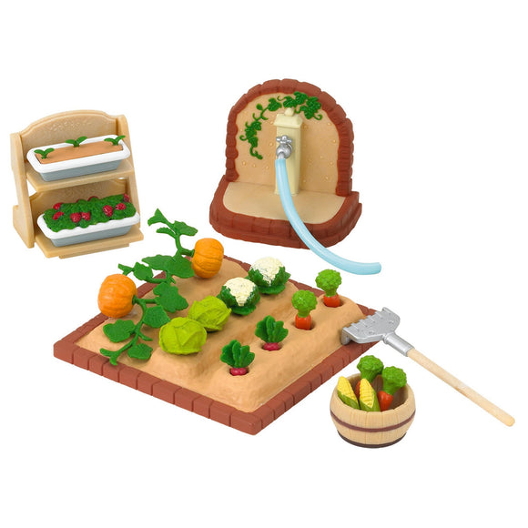 Sylvanian Families Vegetable Garden Set-5026-Animal Kingdoms Toy Store
