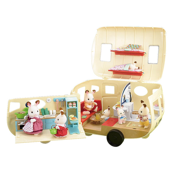 Sylvanian Families Caravan - AnimalKingdoms.co.nz