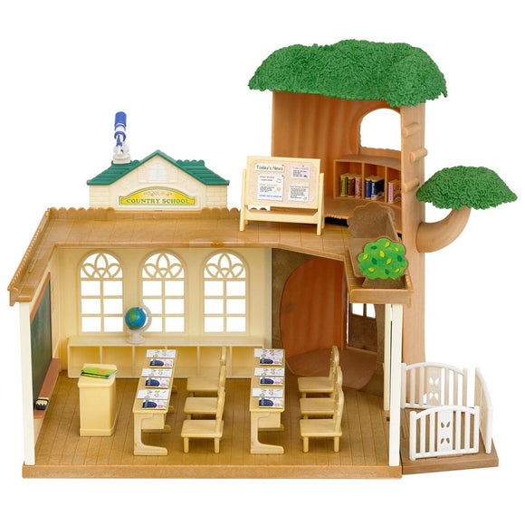 Sylvanian Families Country Tree School - AnimalKingdoms.co.nz