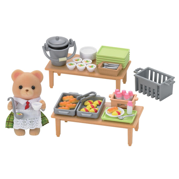 Sylvanian Families School Lunch Set - AnimalKingdoms.co.nz