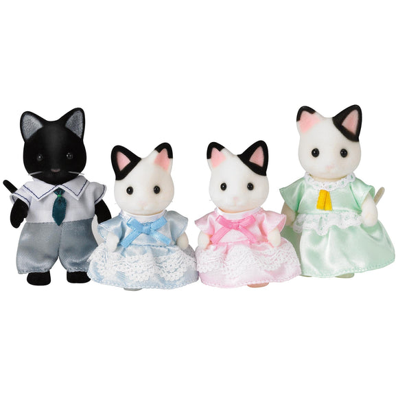 Sylvanian Families Tuxedo Cat Family-5181-Animal Kingdoms Toy Store