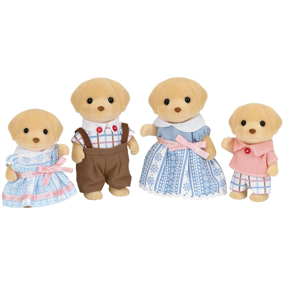 Sylvanian Families Yellow Labrador Family-5182-Animal Kingdoms Toy Store