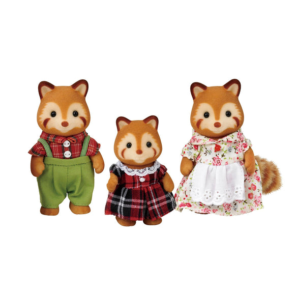 Sylvanian Families Red Panda Family-5215-Animal Kingdoms Toy Store