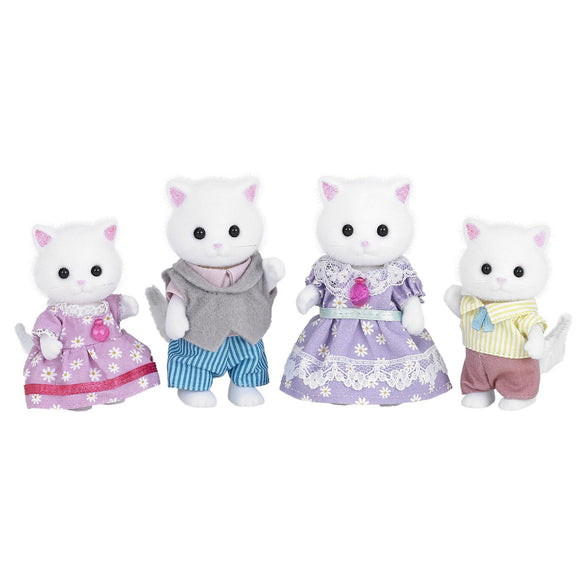 Sylvanian Families Persian Cat Family-5216-Animal Kingdoms Toy Store