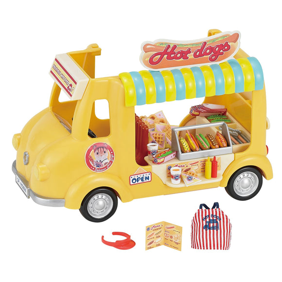 Sylvanian Families Hot Dog Van - AnimalKingdoms.co.nz