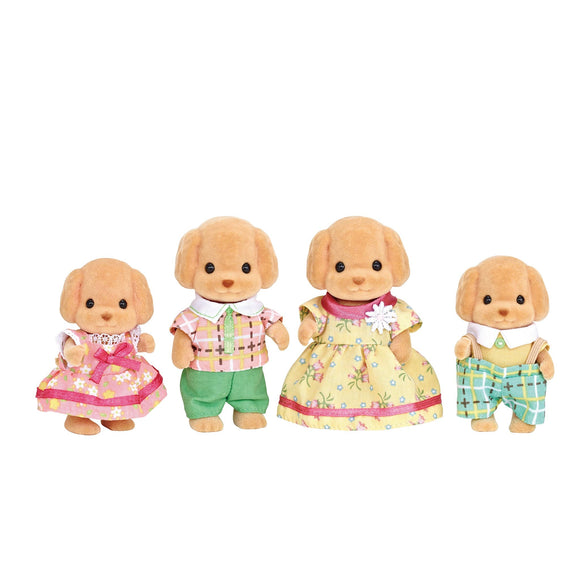 Sylvanian Families Toy Poodle Family-5259-Animal Kingdoms Toy Store