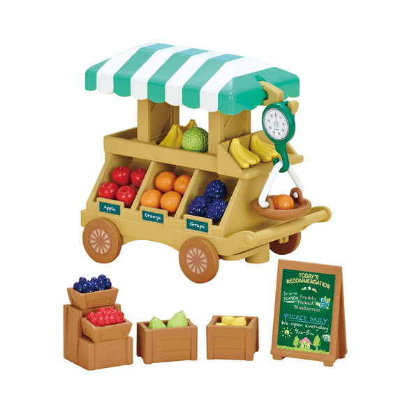 Sylvanian Families Fruit Wagon - AnimalKingdoms.co.nz