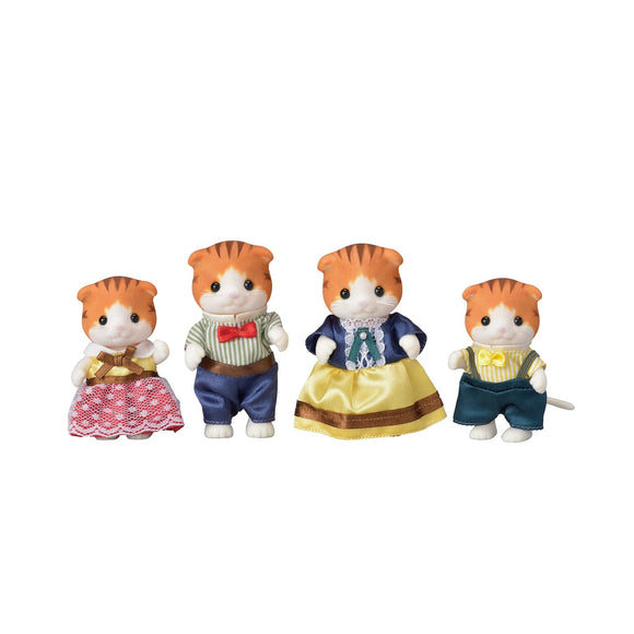 Sylvanian Families Maple Cat Family-5290-Animal Kingdoms Toy Store