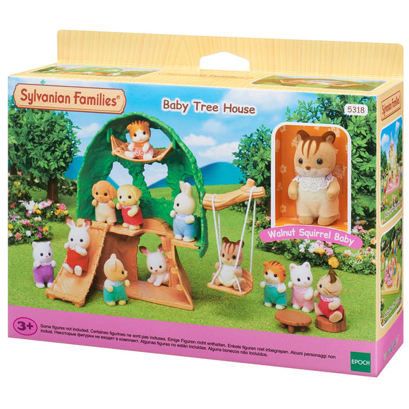 Sylvanian Families Baby Tree House-5318-Animal Kingdoms Toy Store