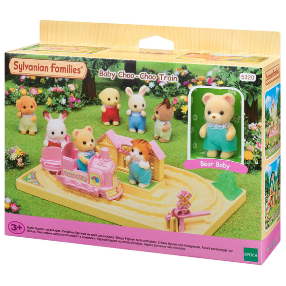 Sylvanian Families Baby Choo Choo Train - AnimalKingdoms.co.nz