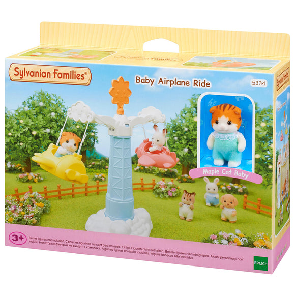 Sylvanian Families Baby Airplane Ride-5334-Animal Kingdoms Toy Store