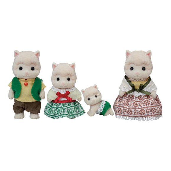 Sylvanian Families Wooly Alpaca Family-5358-Animal Kingdoms Toy Store