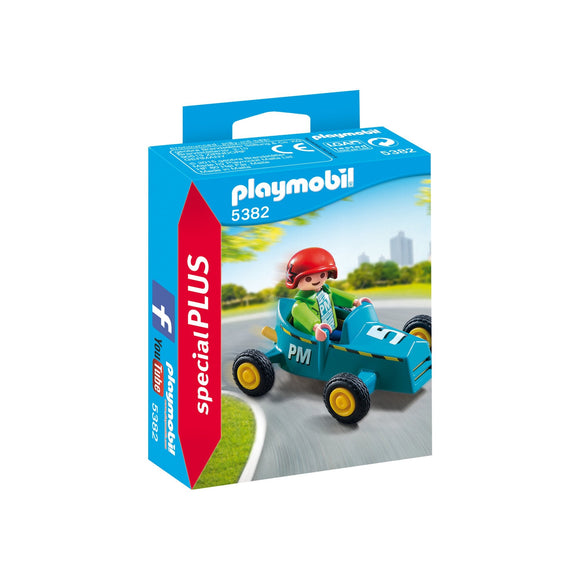 Playmobil Special Plus Boy with Go-Kart-5382-Animal Kingdoms Toy Store